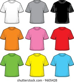 Vector T-Shirts: Great for positioning your own designs!