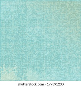 vector turquoise abstract canvas background or grid pattern linen blue texture