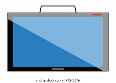 Vector TV Screen