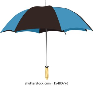 A vector umbrella.