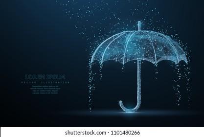 Hơn 3.000 bài thơ tình Phạm Bá Chiểu - Page 20 Vector-umbrella-rain-protection-abstract-260nw-1101480266