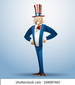 Vector uncle sam