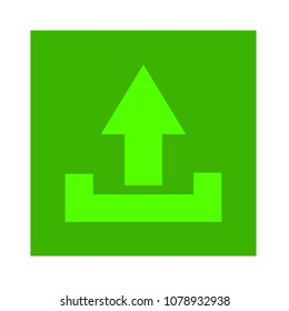 Vector Upload file icon - file document symbol - illustration
