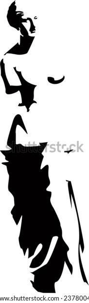 vector venus silhouette eps 8