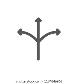 Vector versatile and usb line icon. Symbol and sign illustration design. Isolated on white background