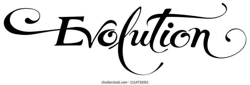 Vector version of my own calligraphy
