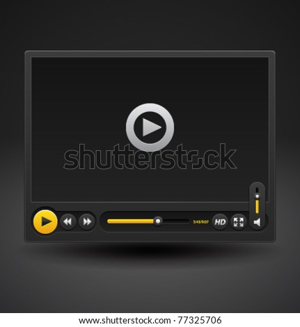 Vector video player