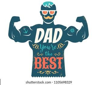 d30aebb4 Vintage Vector Poster Bodybuilder Fitness Motivation Stock Vector ...