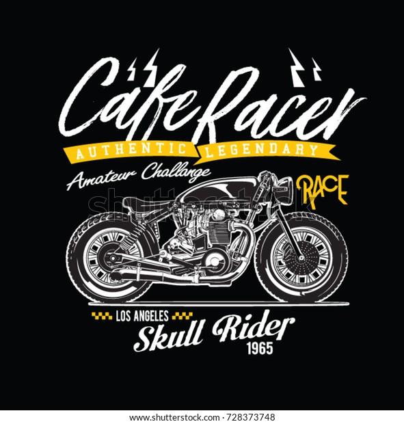 Image by Shutterstock Vintage Motorcycle Gasoline Biker Men/'s Tee