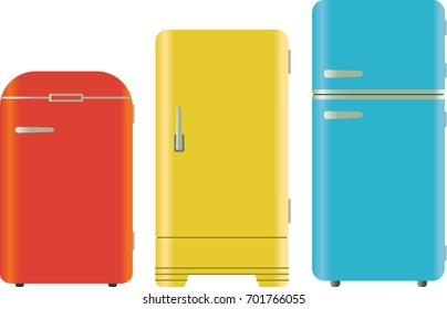 Colors Refrigerator Stock Vectors, Images \u0026 Vector Art