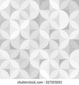 vector vintage retro seamless circle pattern background