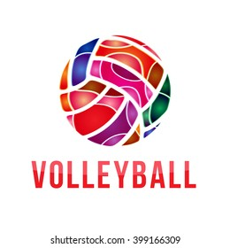 Volleyball Logo Images Stock Photos Vectors Shutterstock