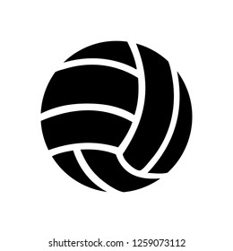 vector volleyball sport icon