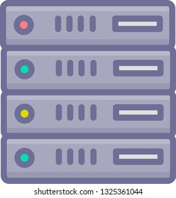A Vector VPS Hosting Icon
