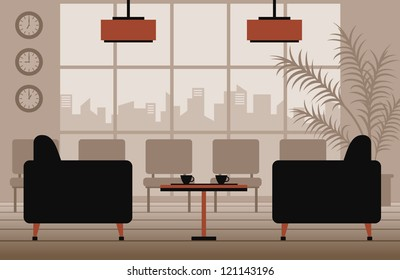 vector waiting room