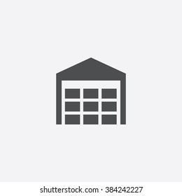 Vector warehouse Icon