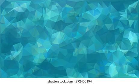Vector water caustic texture effect polygonal