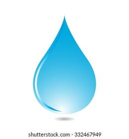Vector Water Drops Icon