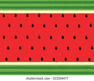 vector of water melon background pattern wallpaper backdrop