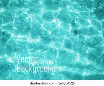 Vector water sea.