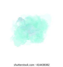 Vector watercolor. Watercolor background isolated. Watercolor vector texture, stains, splatter, splash. Pastel, pink, light, transparent tone.