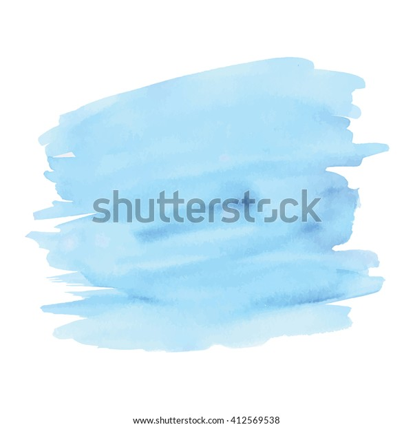 Vector Watercolor Background Isolated Watercolor Texture Stock Vector Royalty Free 412569538