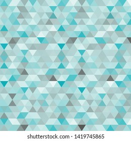 vector wave. abstract image. polygonal style. geometric design. blue color