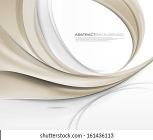 Vector Wave Elegant Background
