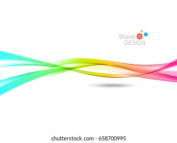 Vector waves lines design for brochure, website, flyer design and abstract background...