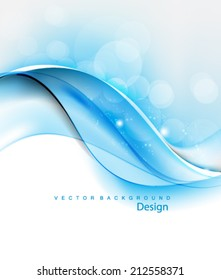 Vector Wavy Concept Background