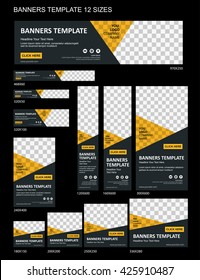Vector Web Banners Templates