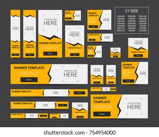 Vector Web Banners Templates. eps10.