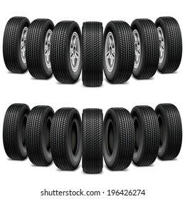 Vector Wedge of Tires