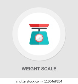 vector weight scale icon - balance scale icon - health lifestyle - diet loss weight icon