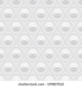 vector white abstract relief geometric transparent seamless pattern texture background