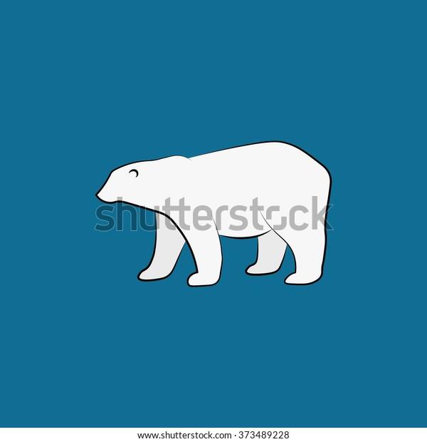 https://image.shutterstock.com/image-vector/vector-white-polar-bear-isolated-600w-373489228.jpg