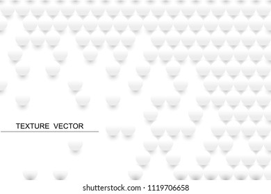 vector white round shape texture background