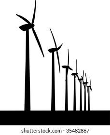 Vector Windmill