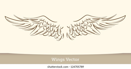Angel Wings Tattoo Images, Stock Photos & Vectors | Shutterstock