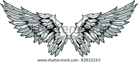 vector wings stock vector royalty free 82832263 shutterstock