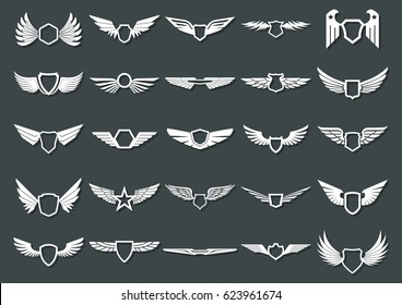 Vector Wings for Logos, Coat of Arms