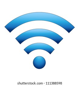 Vector Wireless Icon