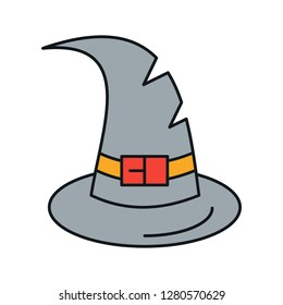 812e4b52b53a8 vector witch cap icon