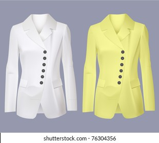 vector women blazer jackets