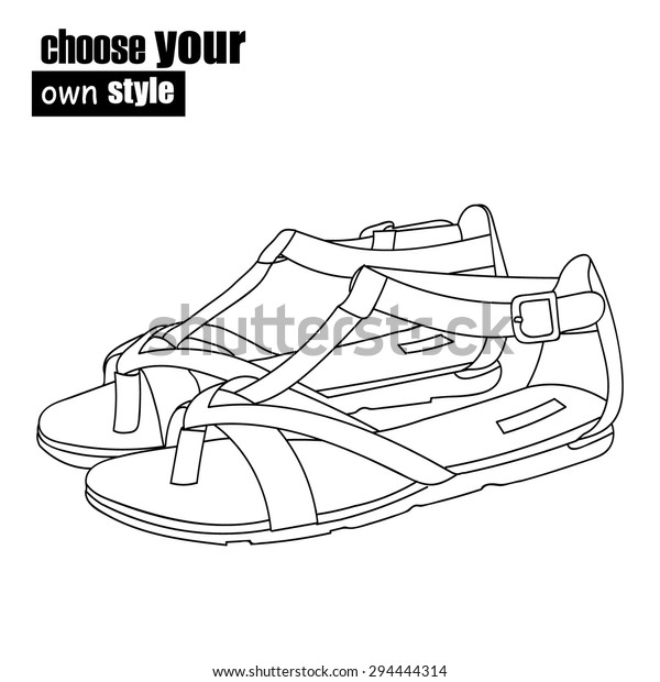 Vector Womens Shoes Choose Your Own