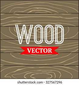 Vector wood texture. Grunge retro vintage wooden texture,  background