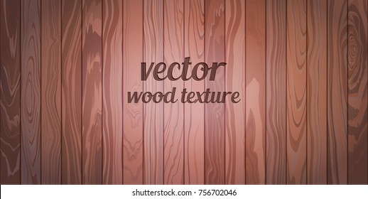 Vector wood texture. Repeated border.