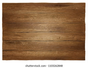 Vector wooden background. Highly detailed, photorealistic. Hand drawn without trace.