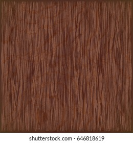 Vector wooden plate with brown fibers