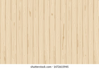 Vector wooden texture. Vertical veneer planks. Natural background for flat lay design